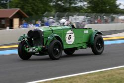 #5 Talbot 105 Go 52 1931: Gareth Burnett, Julian Bronson