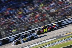 Dale Earnhardt Jr., Hendrick Motorsports Chevrolet and Jeff Gordon, Hendrick Motorsports Chevrolet