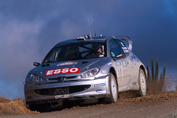 Marcus Gronholm and Timo Rautiainen, Peugeot Sport Peugeot 206 WRC