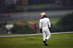 Fernando Alonso, McLaren stopte op het circuit in de tweede vrije training