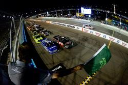 Start: Erik Jones, Kyle Busch Motorsports Toyota leads