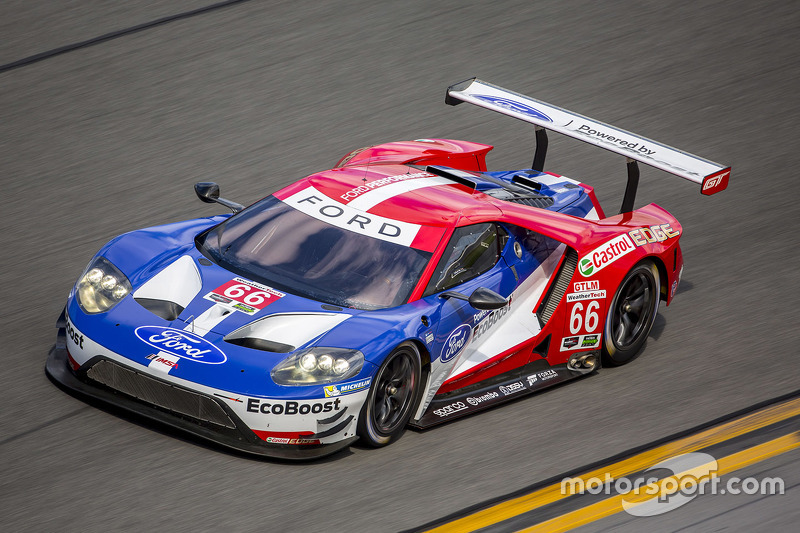 10. #66 Ford Performance Chip Ganassi Racing Ford GT