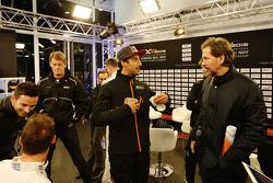 Daniel Ricciardo and ROC founder Fredrik Johnsson