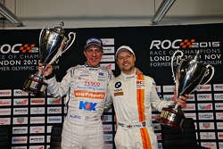 Nations Cup winners Jason Plato and Andy Priaulx
