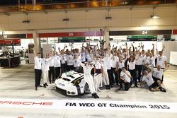 GTE-PRO组制造商年度冠军:保时捷曼泰车队