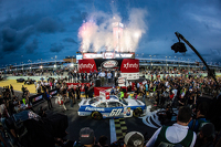 NASCAR XFINITY Photos - Championship victory lane: NASCAR XFINITY Series 2015 champion Chris Buescher, Roush Fenway Racing Ford celebratres