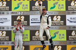 领奖台:冠军马罗·恩格尔,梅赛德斯AMG车手学院;亚军爱德华多·莫塔拉,奥迪菲利克斯车队