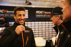Daniel Ricciardo and David Coulthard
