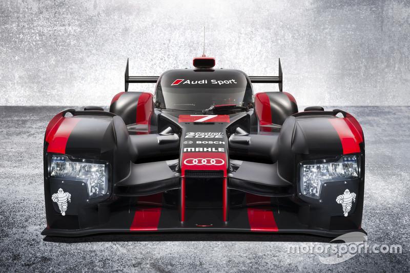 In de #8 Audi stappen: Loïc Duval, Lucas di Grassi en Oliver Jarvis