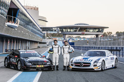 Sebastian Asch and Luca Ludwig, Mercedes-AMG DTM Team