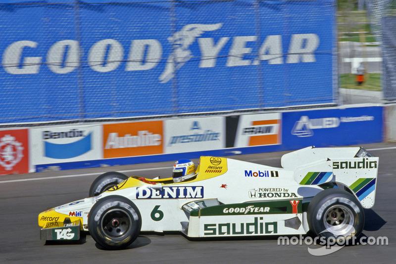1984达拉斯大奖赛:科克·罗斯伯格,威廉姆斯FW09
