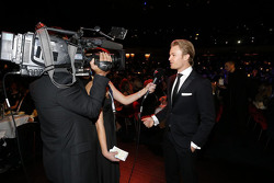 尼科·罗斯伯格,梅赛德斯车队,接受媒体采访