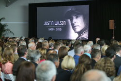 Justin Wilson Memorial at IMS