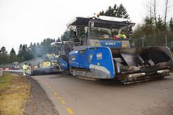 Nürburgring track work