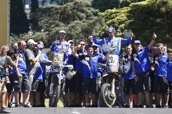 #7 Yamaha: Helder Rodrigues and #42 Yamaha: Adrien van Beveren