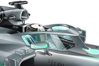 Fórmula 1 Fotos - Head protection, side glass
