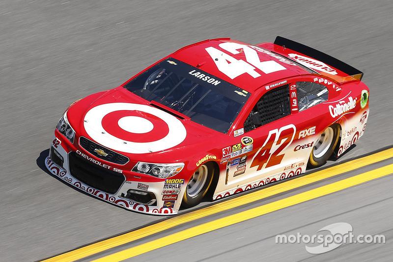 Startplatz 14: Kyle Larson (Ganassi-Chevrolet)
