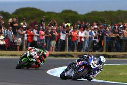 Sylvain Guintoli, Pata Yamaha and Tom Sykes, Kawasaki Racing Team