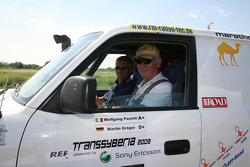 #37 Lybia Rally Raid Toyota Landcruiser J9: Wolfgang Pasetti and Martin Gröger