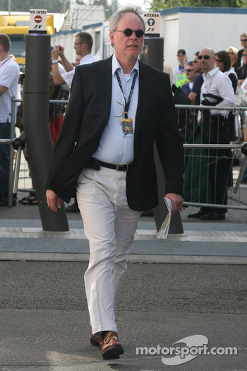Dr Walter Kafitz, CEO of the Nurburgring