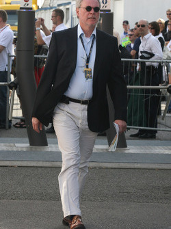 Dr Walter Kafitz, CEO of the Nurburgring