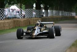 Jim Bennett, 1982 Lotus-Cosworth 91 (ex Elio di Angelis)