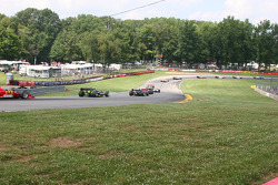 Corners 5, 6 and 7 at the Mid Ohio Sports Car Course