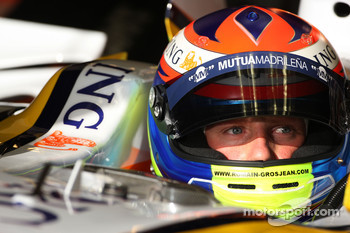 Romain Grosjean, Test Driver, Renault F1 Team
