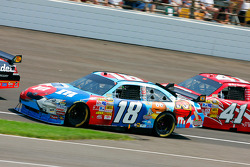 Kyle Busch and Reed Sorenson