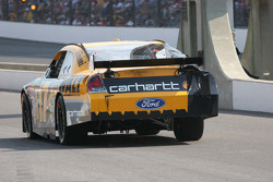 Matt Kenseth rolls down pit lane