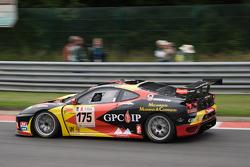 #175 Eddy Renard (Sport Garage) Ferrari 430 GT3: Eddy Renard, Robert Hissom, Stéphane Lacroix Wasover, Philippe Thirion