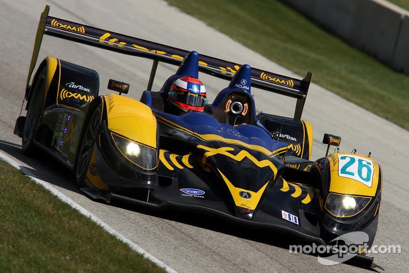 #26 Andretti Green Racing Acura ARX-01B Acura: Franck Montagny, James Rossiter