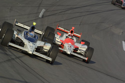 Buddy Rice and Helio Castroneves