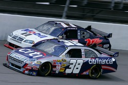 David Gilliland and Sam Hornish Jr.