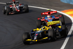 Andy Soucek leads Bruno Senna and Jerome D'Ambrosio