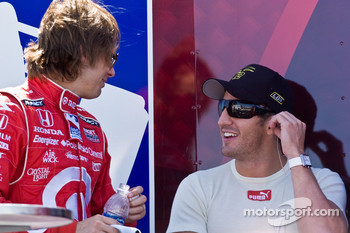 Tomas Scheckter and Dan Wheldon