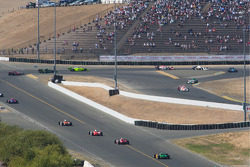 Turn 7 race action