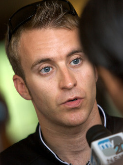 Detroit Grand Prix media lunch at the Detroit Yacht Club: Timo Bernhard