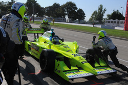 Ed Carpenter in the pits