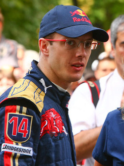 Sébastien Bourdais after his run