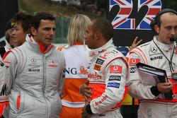 Pedro de la Rosa, Test Driver, McLaren Mercedes with Lewis Hamilton, McLaren Mercedes