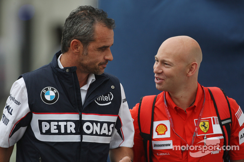 Beat Zehnder, BMW Sauber F1 Team, Team Manager and Mark Arnell, Personal trainer to Kimi Raikkonen