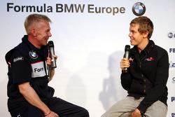 BBQ at FBMW Hospitality: Sebastian Vettel, Scuderia Toro Rosso