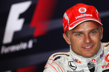 Post-race press conference: second place Heikki Kovalainen