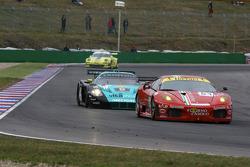 #51 AF Corse Ferrari F430: Thomas Biagi, Christian Montanari