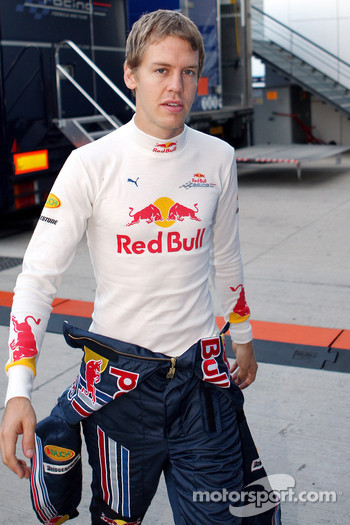 Sebastian Vettel, Red Bull Racing- Formula 1 Testing