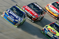 Jimmie Johnson, Carl Edwards, Casey Mears and Greg Biffle