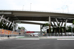 View of the track from the 1st corner