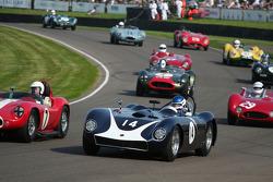 Sussex Trophy pace lap