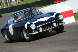 Goodwood Legends parade: Stirling Moss and Ferrari 250 GT SWB